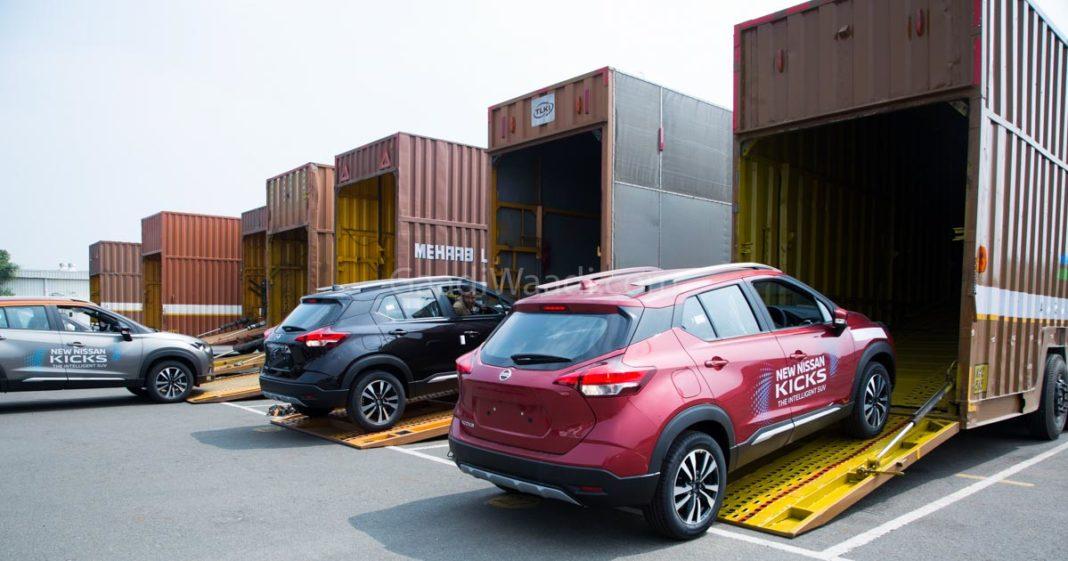 Hyundai Creta Rival Nissan Kicks Dealership Dispatch Begins, Launch on 22nd Jan-2
