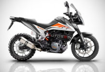 KTM 390 Adventure R Rendered 1