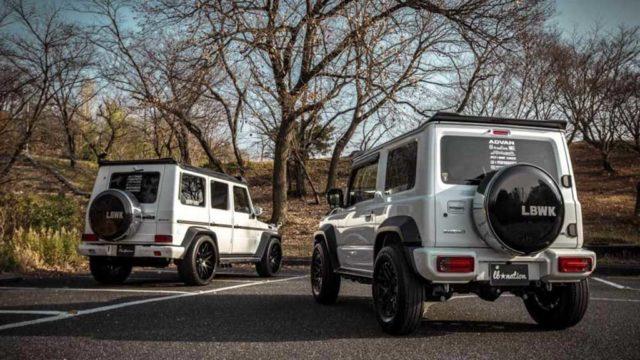 Liberty Walk G Mini Body Kit (Suzuki Jimny To Mercedes G-Class) 2
