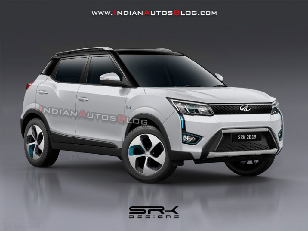 Mahindra-XUV-300-EV-rendered