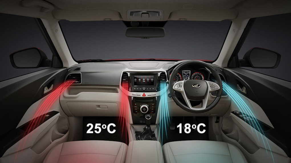 Mahindra XUV300 Dual Zone Climate Control AC