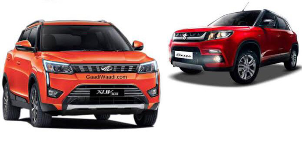 Mahindra XUV300 (Vitara Brezza Rival) Booking Officially Begins In India