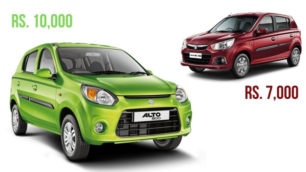 Maruti Suzuki Hikes Alto 800 Prices By Rs 10 000 Alto K10 By Rs 7 000