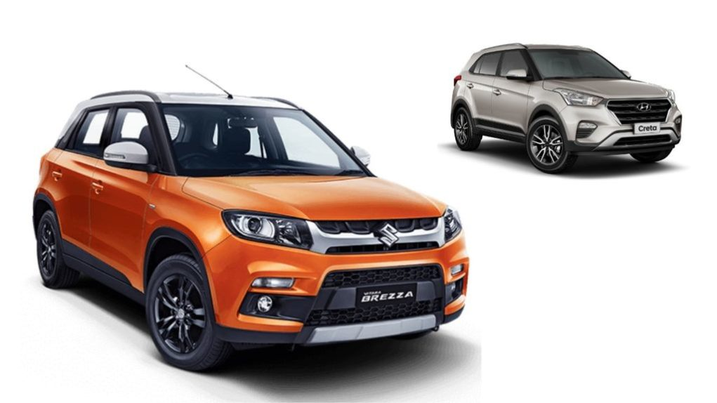 Maruti-Suzuki-Vitara-Brezza-and-Hyundai-Creta-best-selling-SUVs