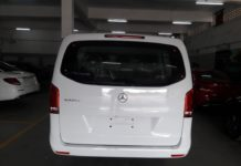 Mercedes-Benz V-Class Luxury MPV Spied In India 7