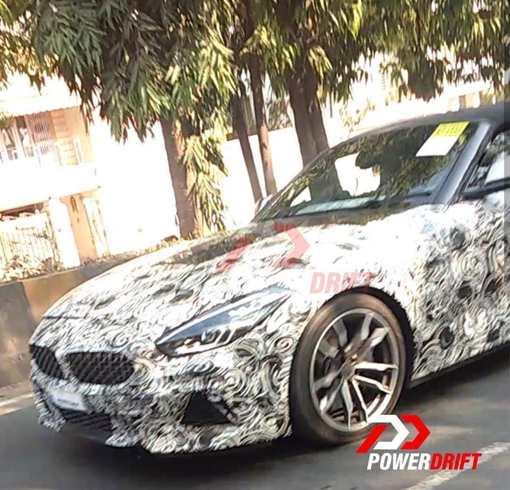 New-BMW-Z4-Spied-In-India-1