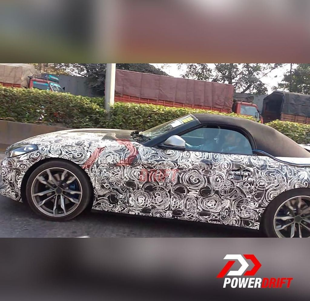New Bmw Z4: Upcoming BMW Z4 Spotted Testing In India Before Launch