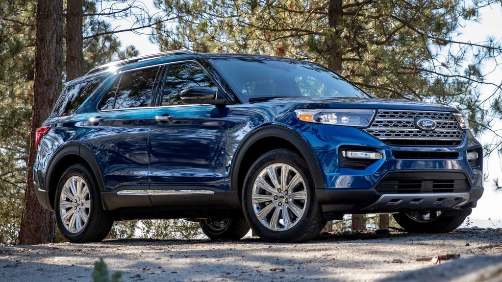 All-New 2020 Ford Explorer Premium SUV Revealed