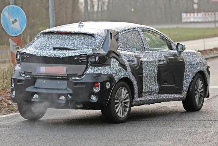 Next-generation Ford EcoSport rear