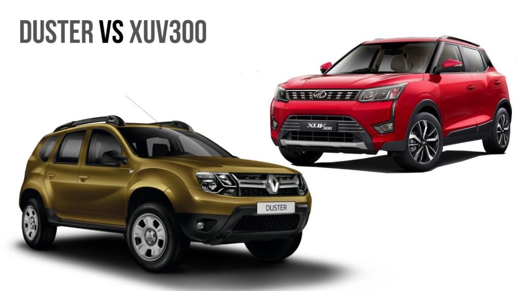 Mahindra XUV300 Vs Renault Duster: Comparison - GaadiWaadi.com