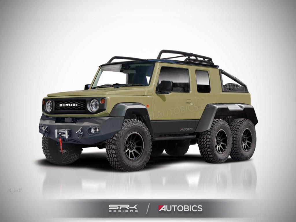 Suzuki-Jimny-6X6-rendering