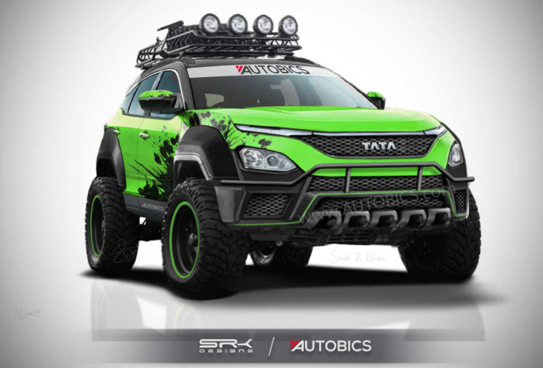 Tata Harrier Off-Road Edition Concept
