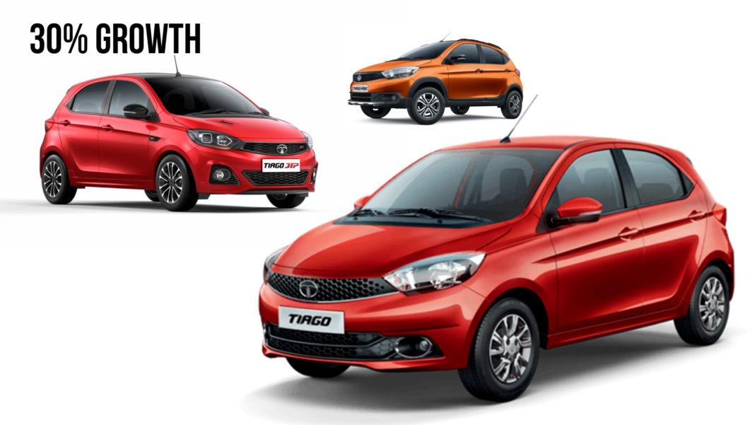 Tata Tiago sales 2018