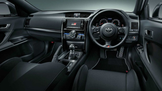Toyota Mark X GRMN Interior