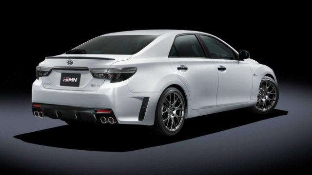 Toyota Mark X GRMN Rear
