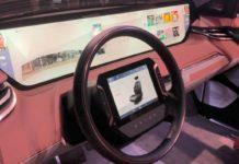 car with big screens CES 2019