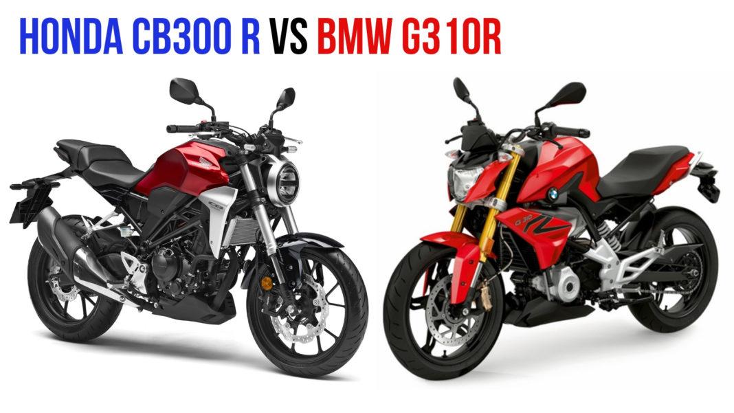 honda cb300r vs g310r