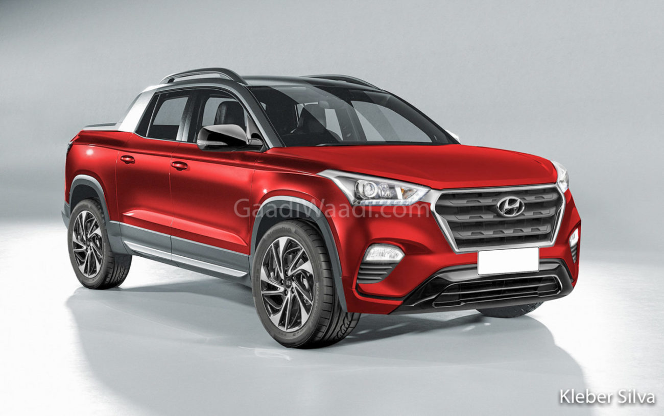 Upcoming Hyundai Pickup Truck To Use Ladder Frame Chassis