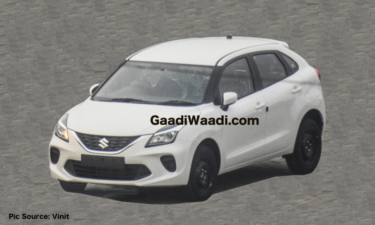 Exclusive: 2019 Maruti Suzuki Baleno Facelift Clear Pictures Out
