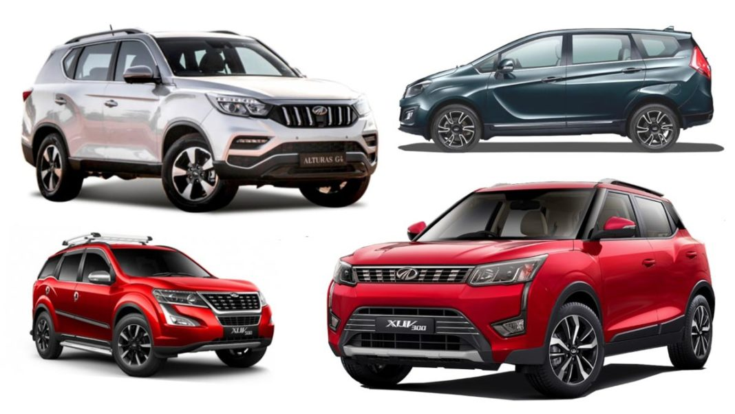 new generation mahindra suvs
