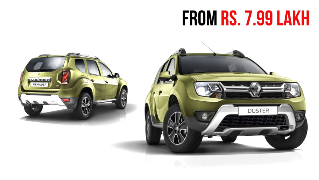 renault duster From Rs. 7.99 Lakh