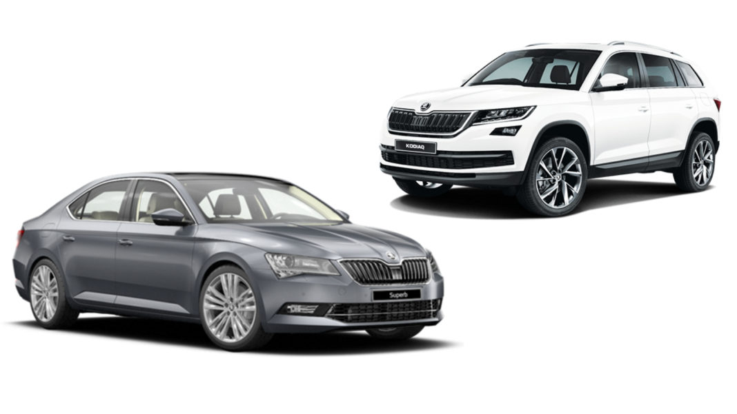 skoda superb skaoda kodiaq sales