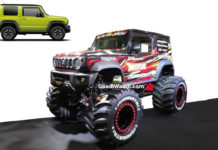 suzuki jimny monster customisation
