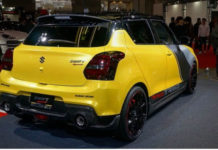 suzuki swift sport yellow rev concept 4