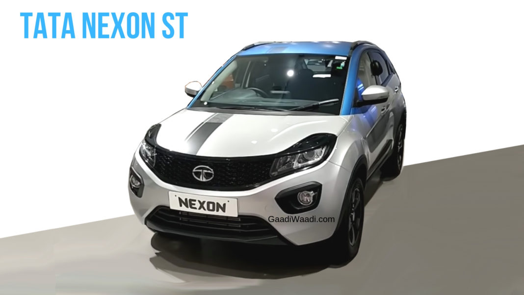 This Wrapped Tata Nexon St Looks Totally Stunning