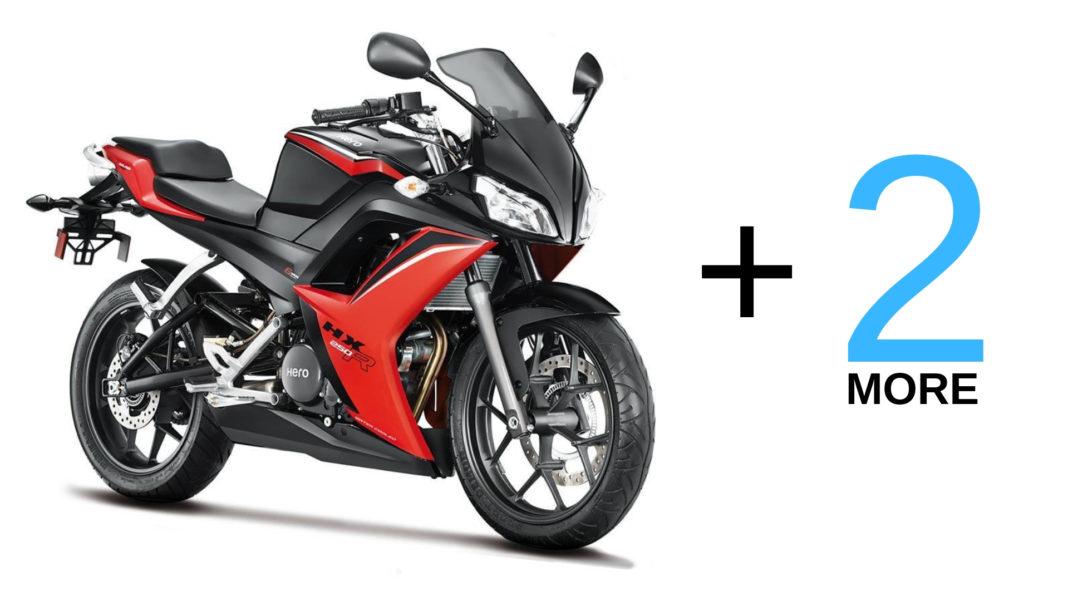 upcoming hero motorcycles