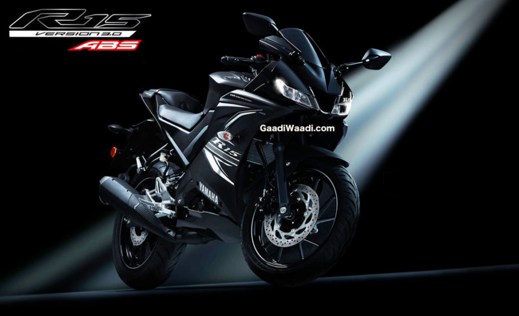 Yamaha YZF-R15 V3 Gets A New Darknight Colour, Launched ...