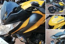 2019 Bajaj Pulsar NS 200 ABS Yellow Colour-2
