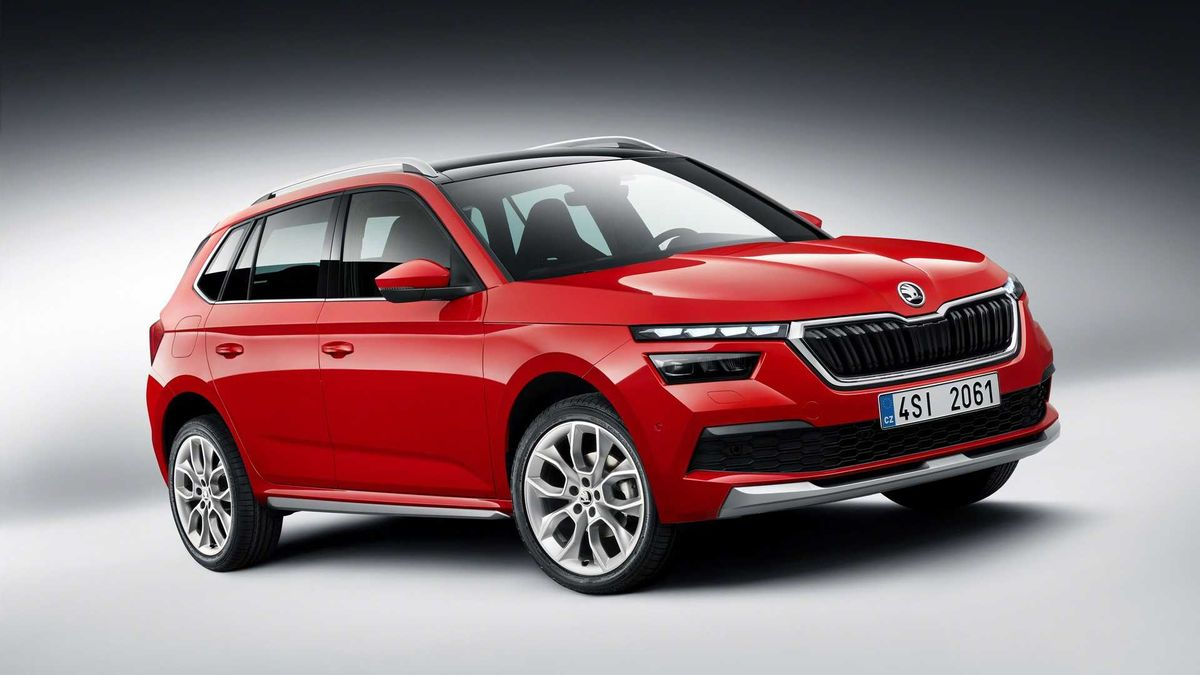 מודיעין India-Bound Skoda Kamiq (Jeep Compass Rival) Unveiled XE-62