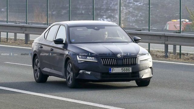 2019 Skoda Super Facelift