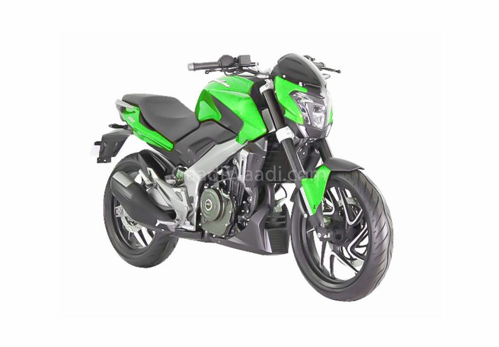 2019 bajaj dominar 400 green-1
