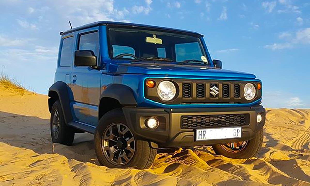 Suzuki Jimny Is A Rockstar On The Sand Dunes In Dubai