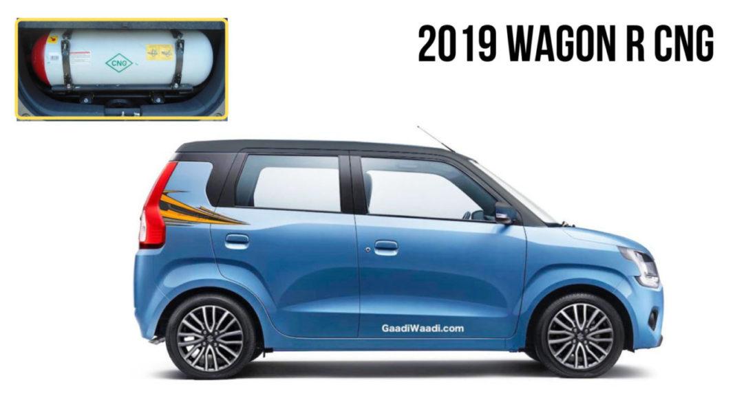 2019 wagon r cng