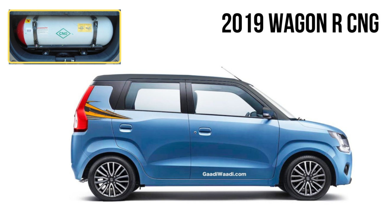 2019 Maruti Wagon R S Cng Has Best In Class 33 54 Km Kg Mileage
