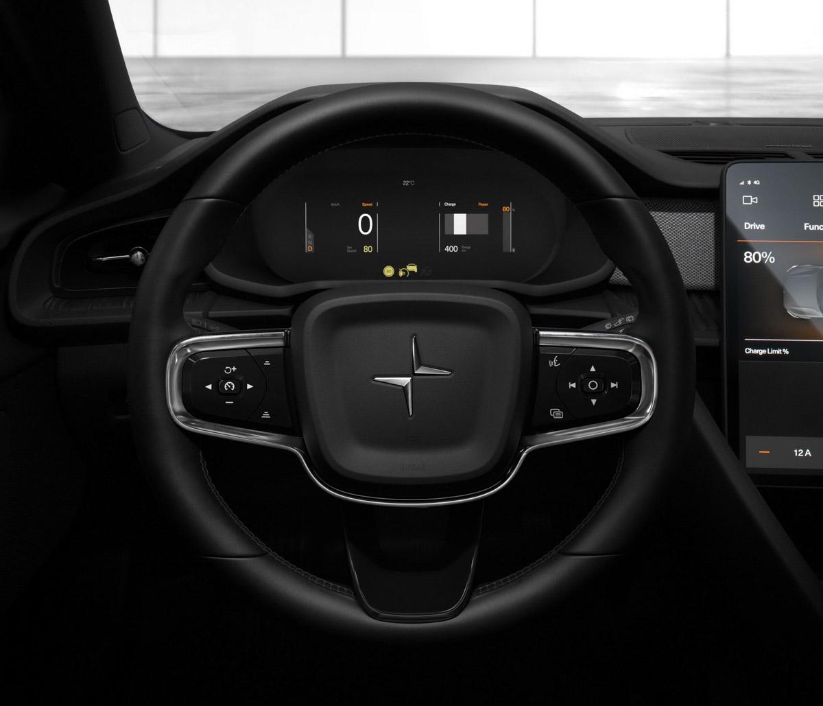 2020 Volvo S60 Sedan Interior Facelift: Volvo's Polestar 2 EV Revealed With 402 HP And 500 KM Range