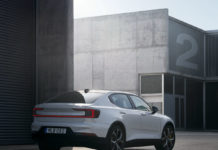 2020 Polestar 2 EV Rear