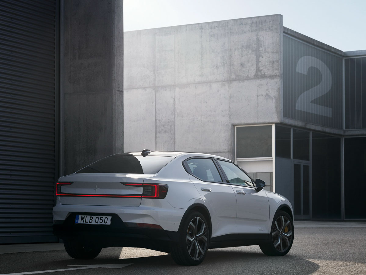 Polestar 2 Arrives Ready To Fight Tesla Model 3