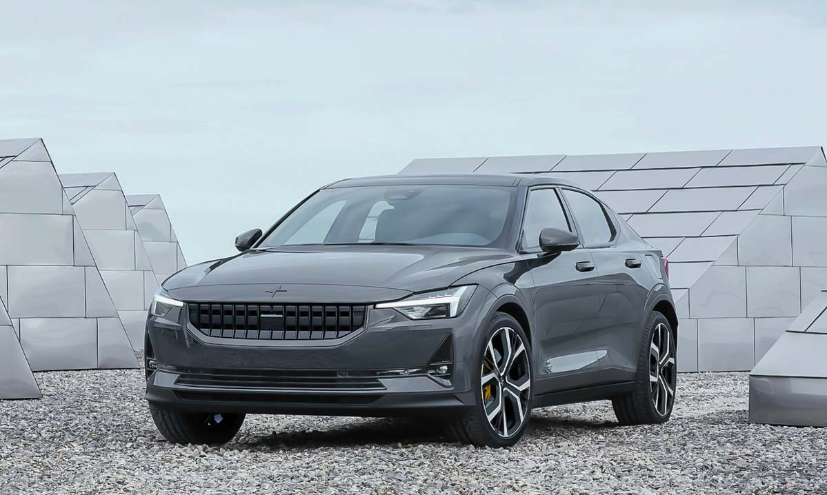 Volvo's Polestar joins electric vehicle race to rival Tesla 3