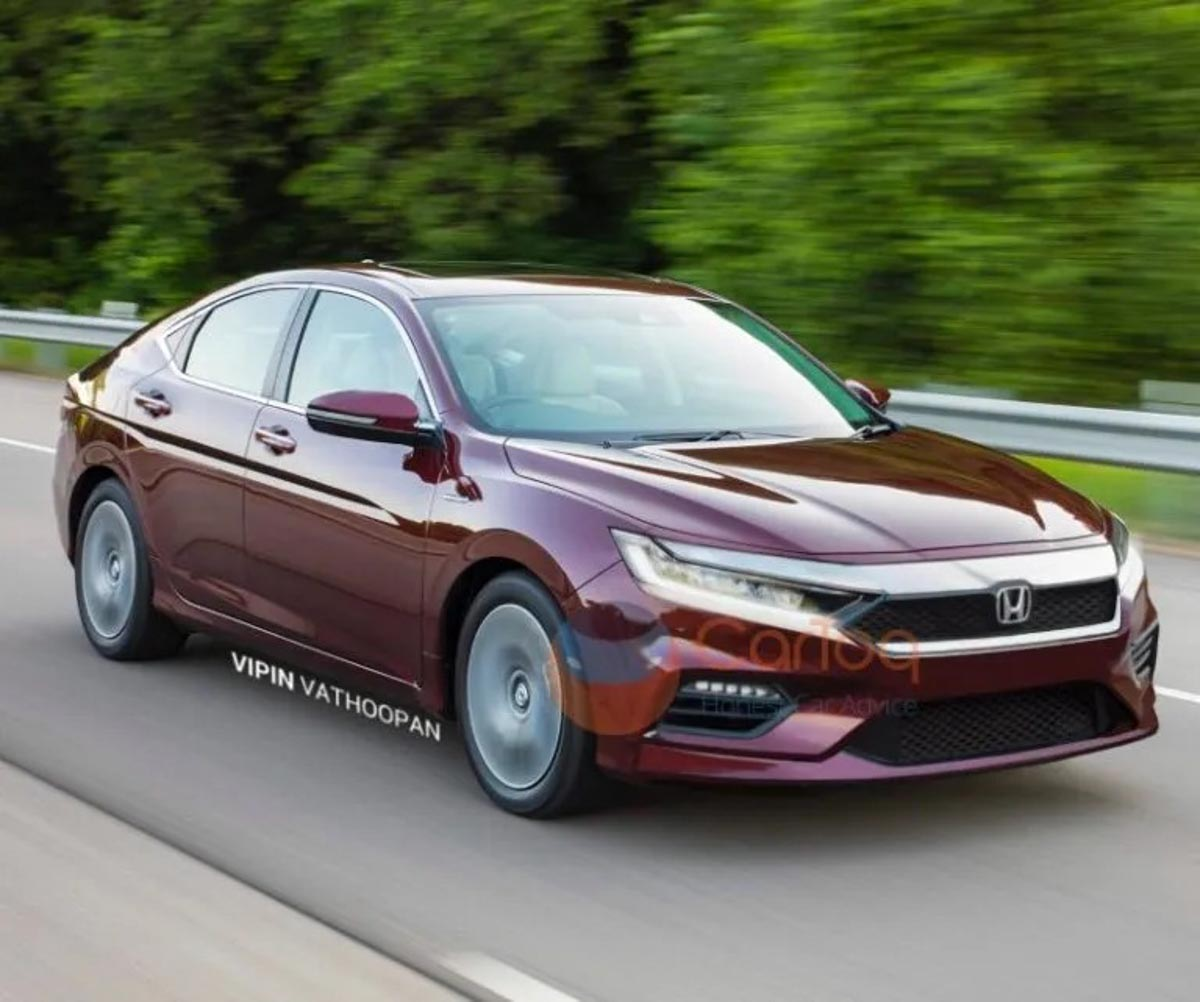 Top 10 Upcoming Cars In India 2019 Price In India And: Production-Spec 2020 Honda City Rendered Showcasing