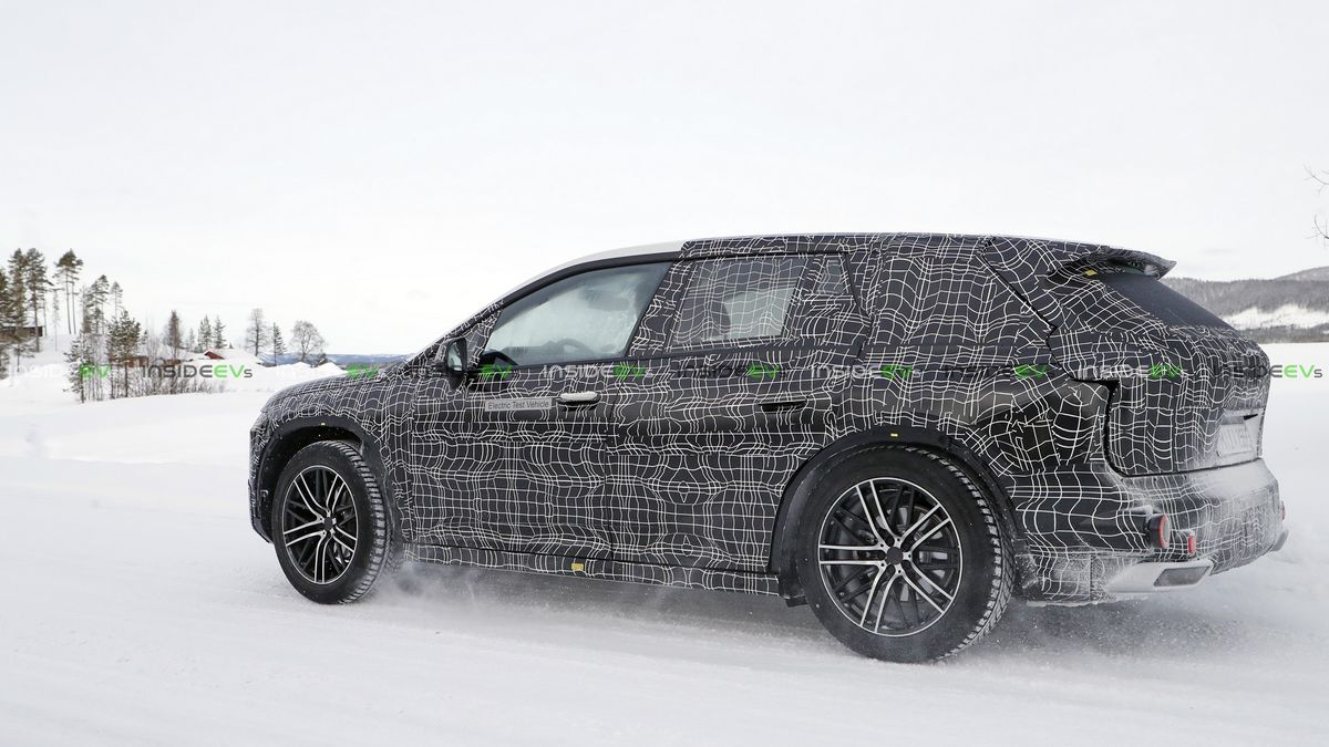 2021 BMW INext Is Fully Autonomous SUV >> Flagship Bmw Inext Suv Spied Undergoing Winter Testing