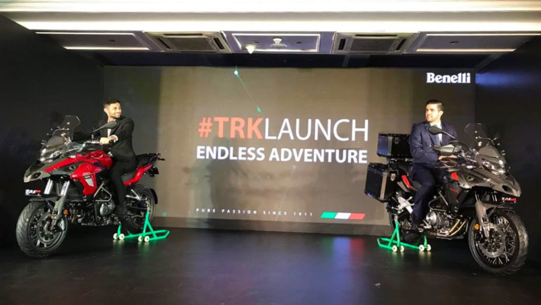 Benelli TRK 502 & 502X Adventure Tourers Launched In India