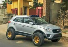 Customised Hyundai Creta 2