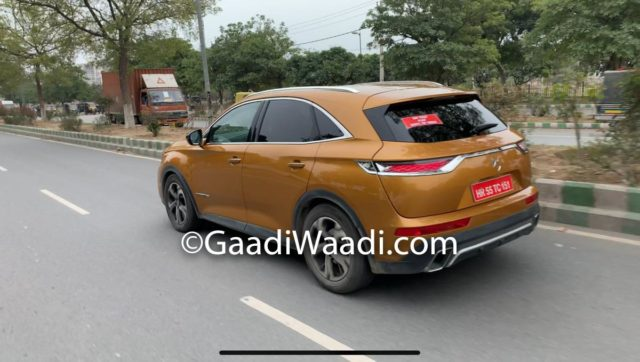 DS7 Crossback Caught Testing In India 2