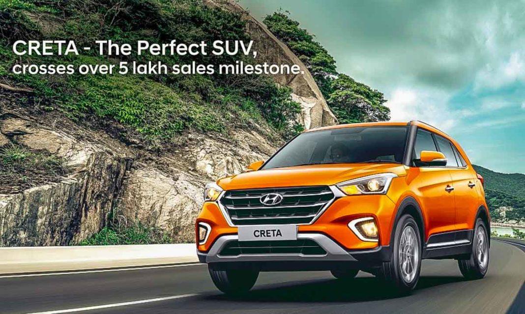 Hyundai Creta Achieves 5 Lakh Sales Milestone In India