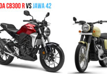 Jawa 42 VS Honda CB300R - Specs Comparison