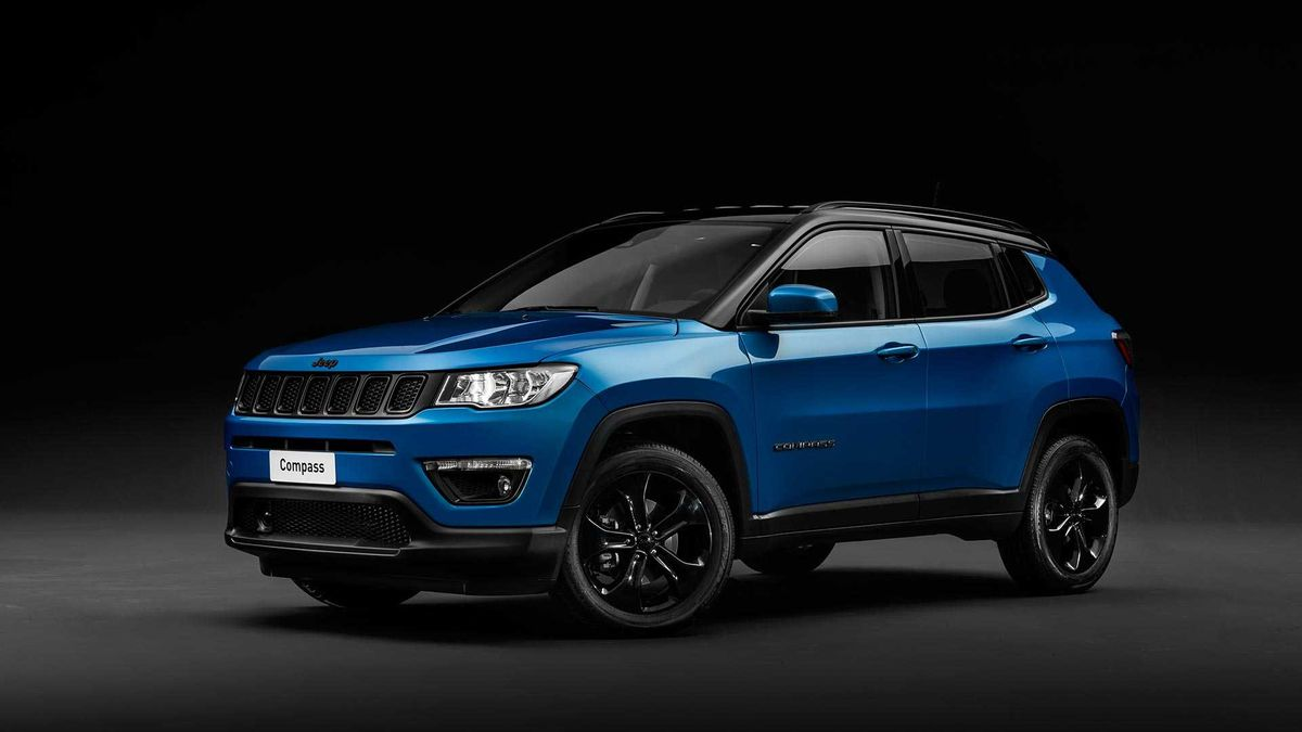 Jeep Compass Night Eagle Edition Revealed on Jeep Grand Cherokee 4 0 Engine